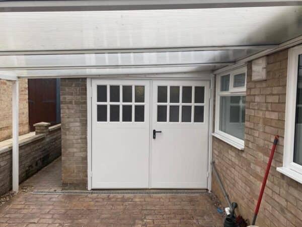 Side Hinged Garage Door